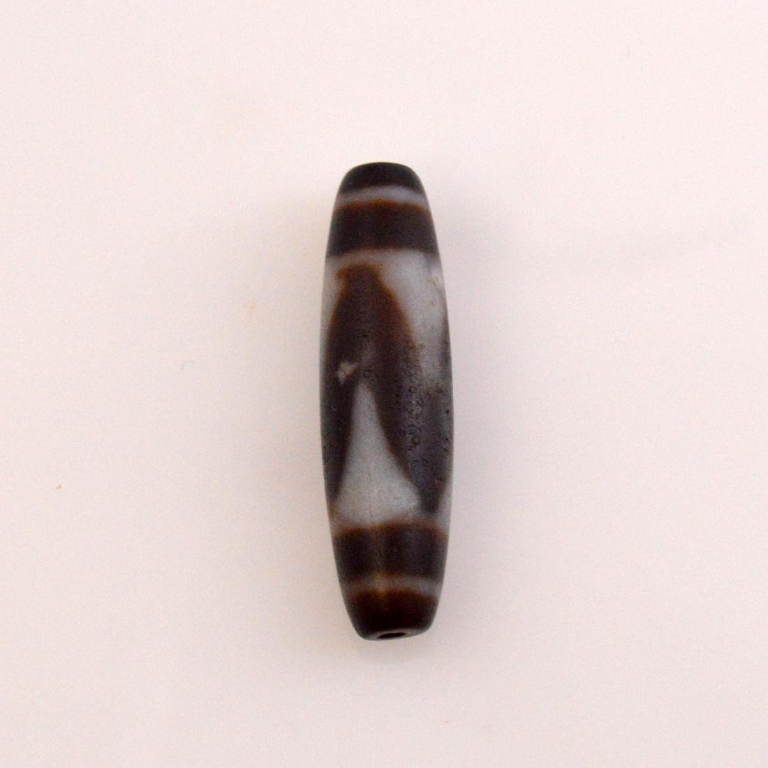 Tiger Tooth Dzi Bead Pair - 2