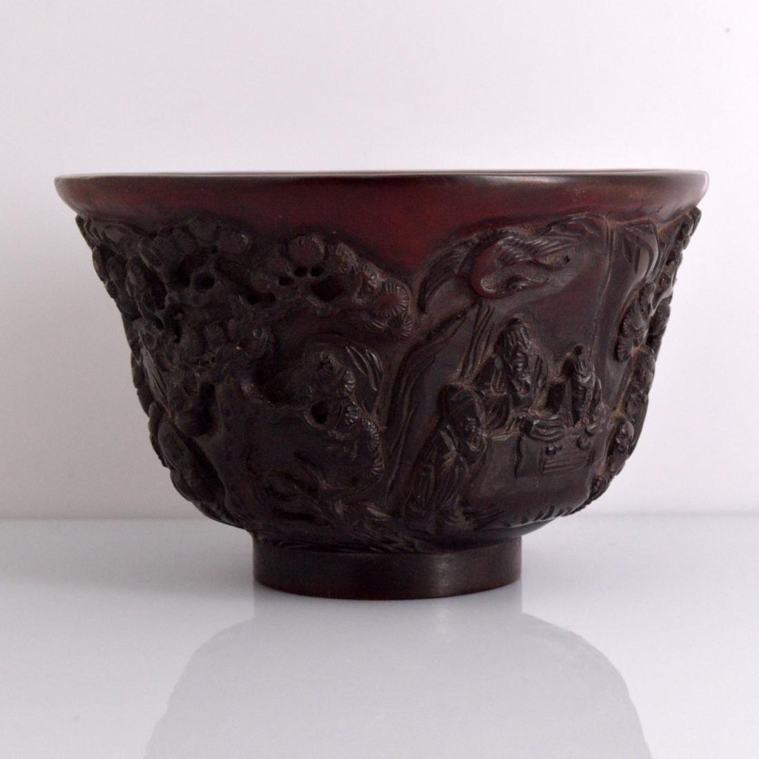 Landscape Carved Bowl