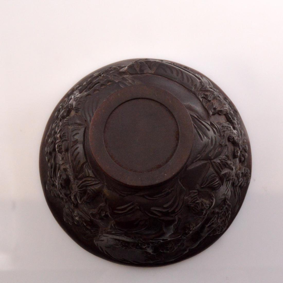 Landscape Carved Bowl - 6