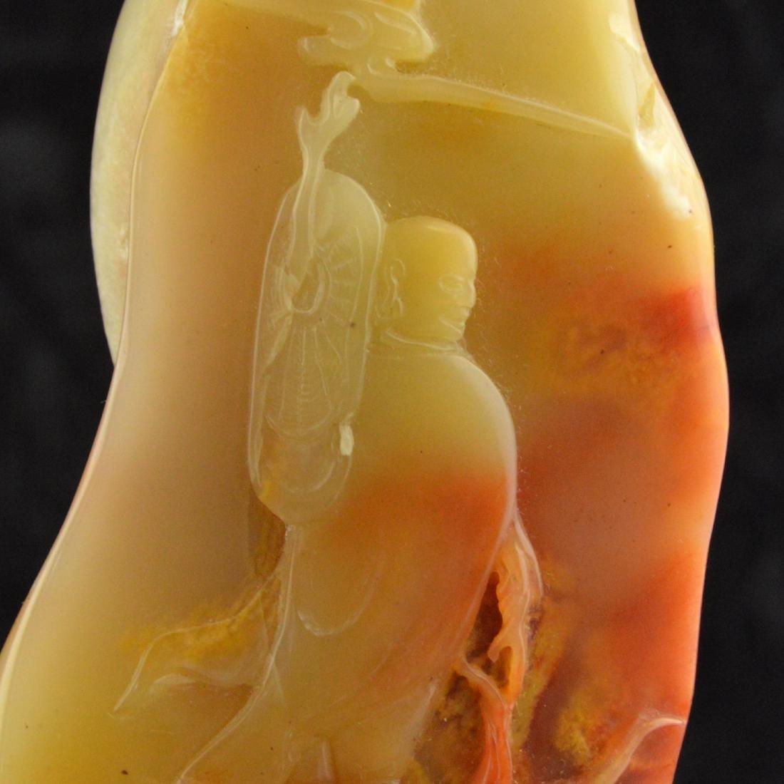 Soapstone Carved Figure Decor - 5