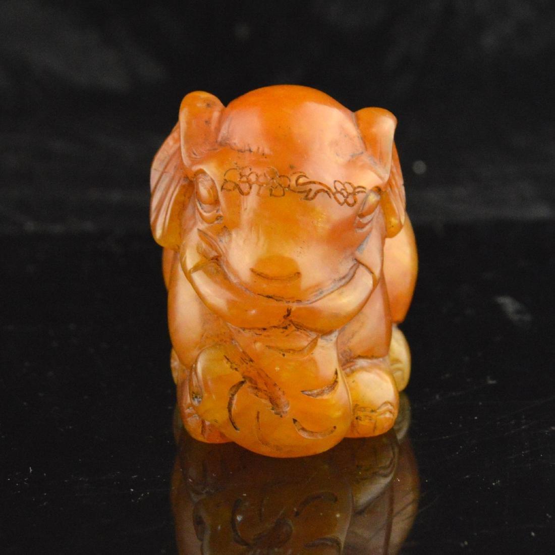 Soapstone Carved Elephant - 2