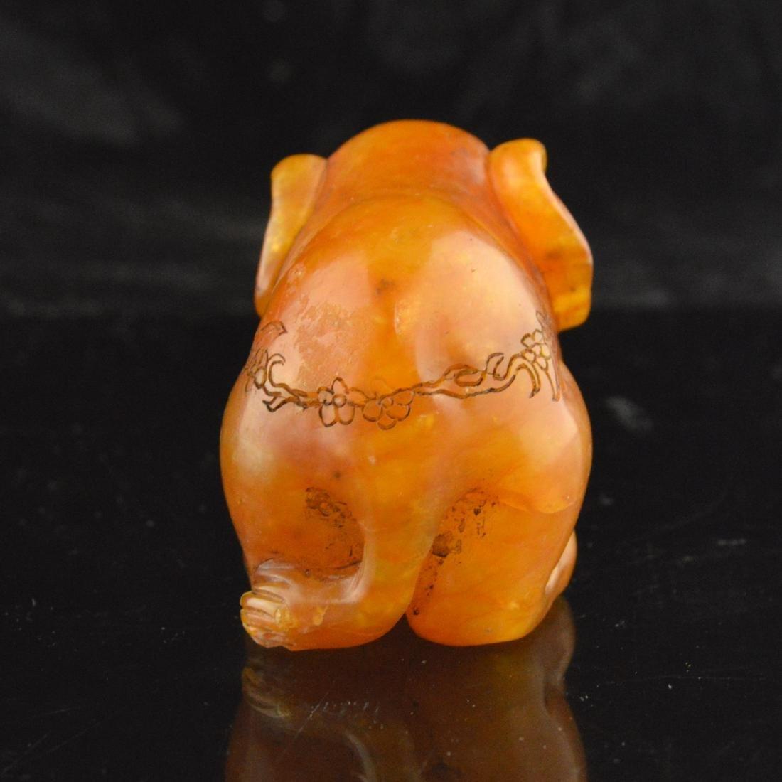 Soapstone Carved Elephant - 4