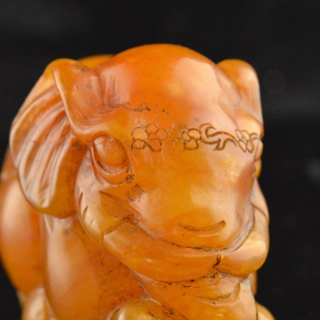 Soapstone Carved Elephant - 6