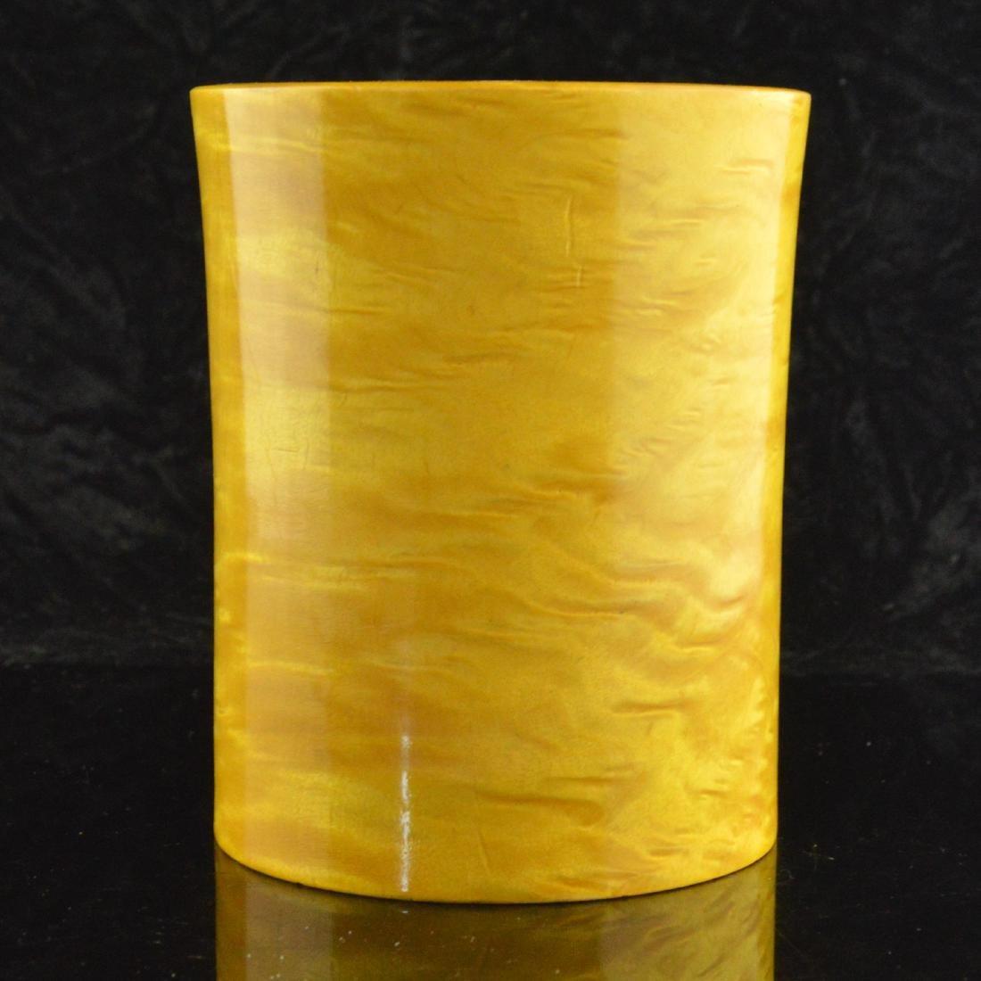 Penholder & Cloisonne Vase Pair - 2