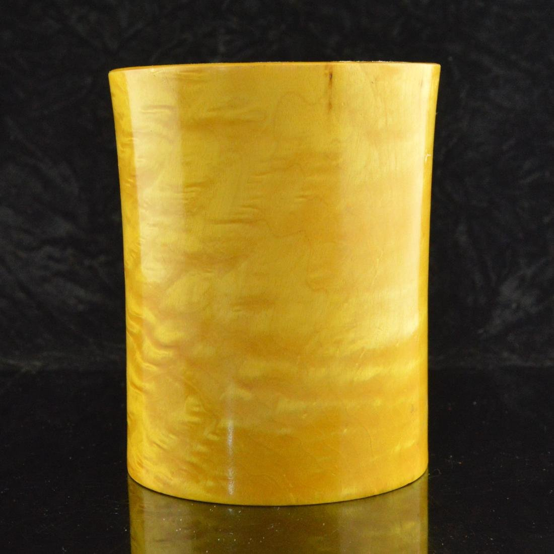 Penholder & Cloisonne Vase Pair - 3