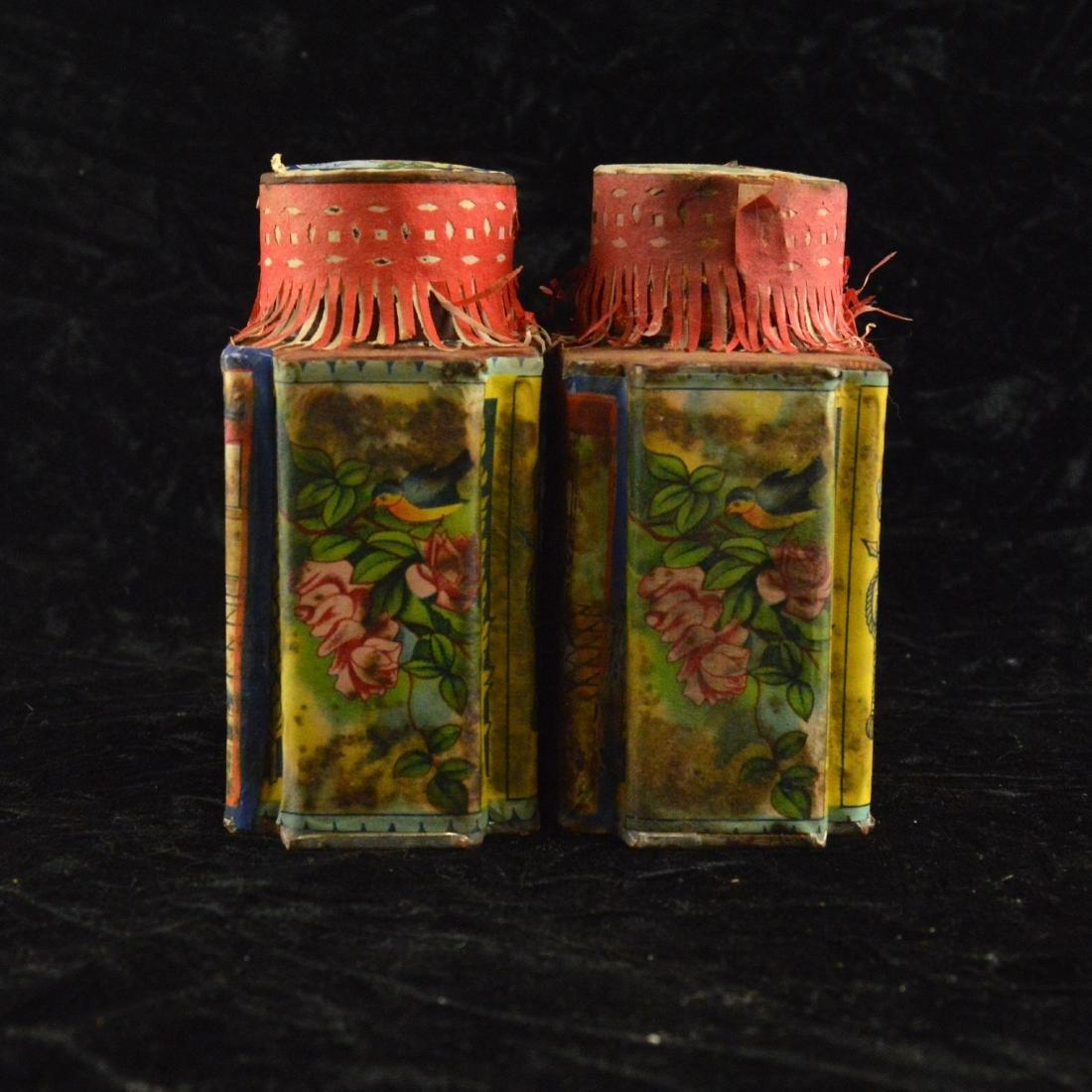 Chinese Republic Tea Tin Pair - 2