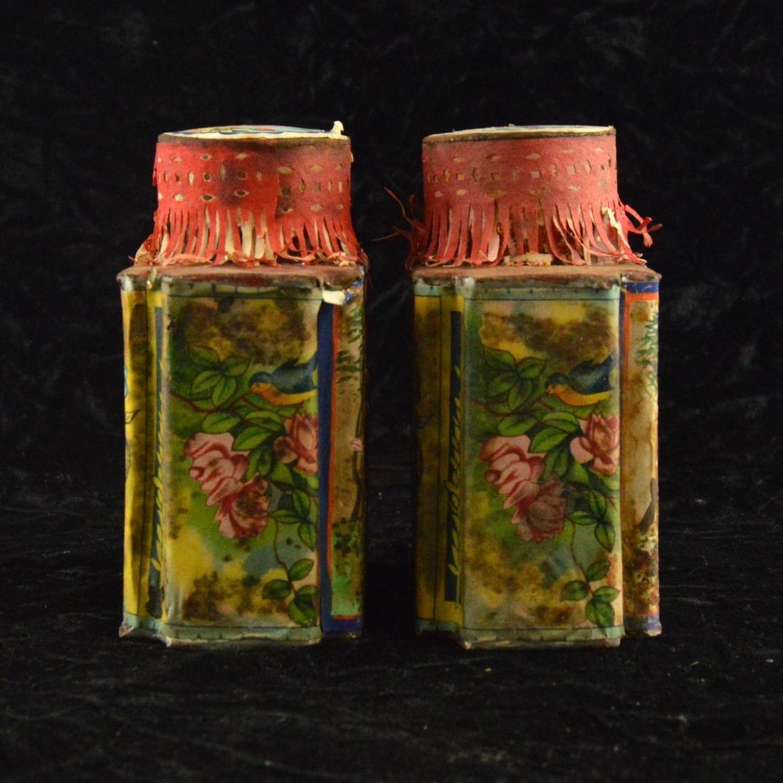Chinese Republic Tea Tin Pair - 4