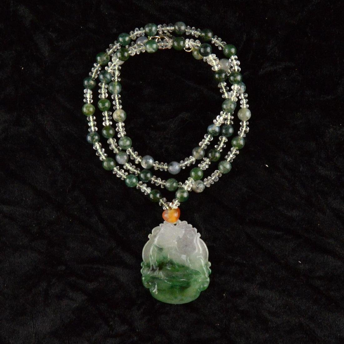 Jadeite Pendant Necklace