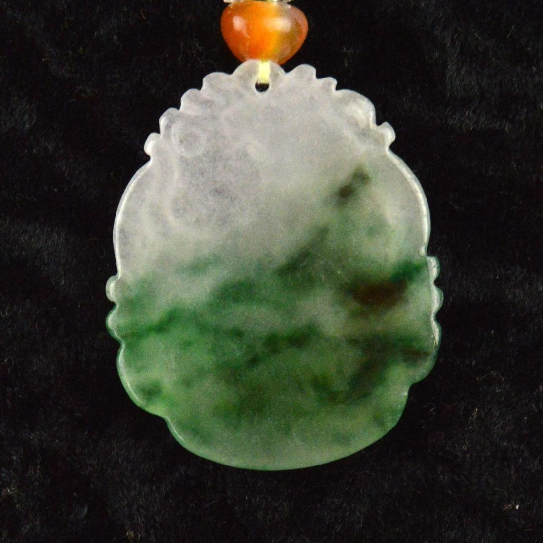 Jadeite Pendant Necklace - 3