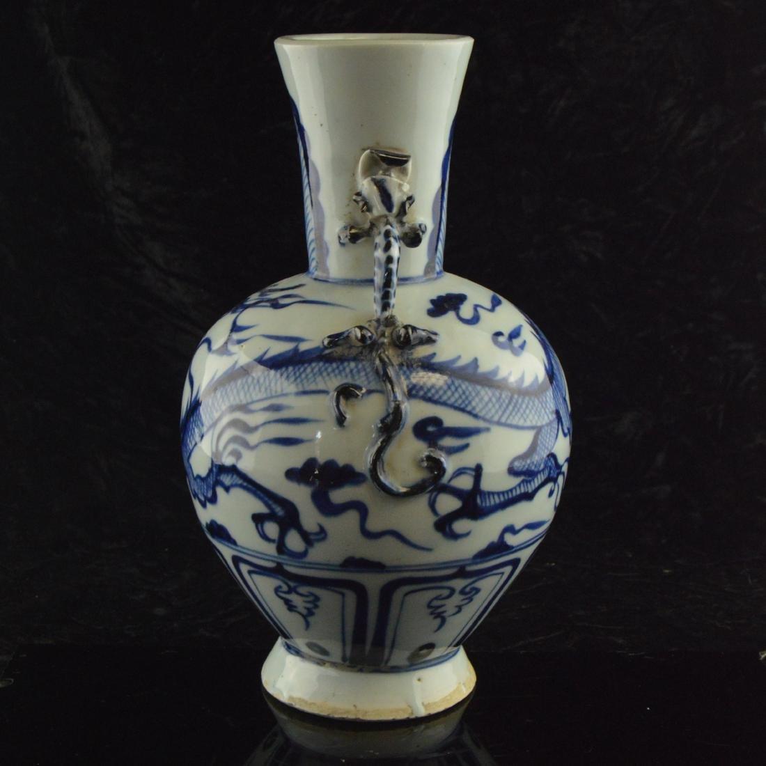 Amphora Dragon Vase - 2