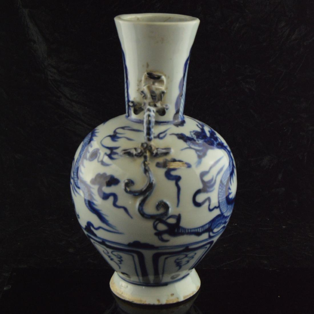 Amphora Dragon Vase - 4