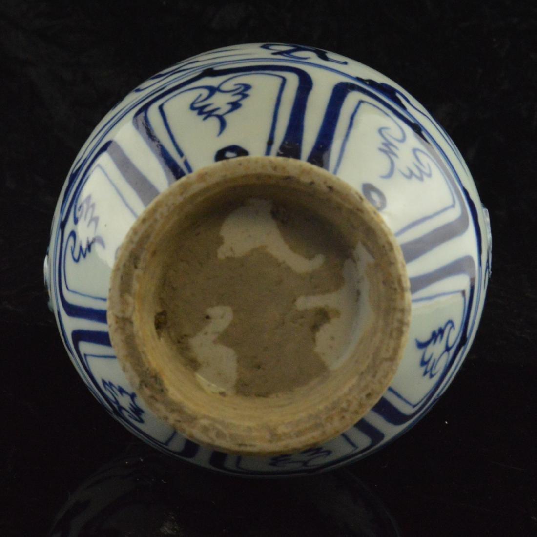 Amphora Dragon Vase - 5