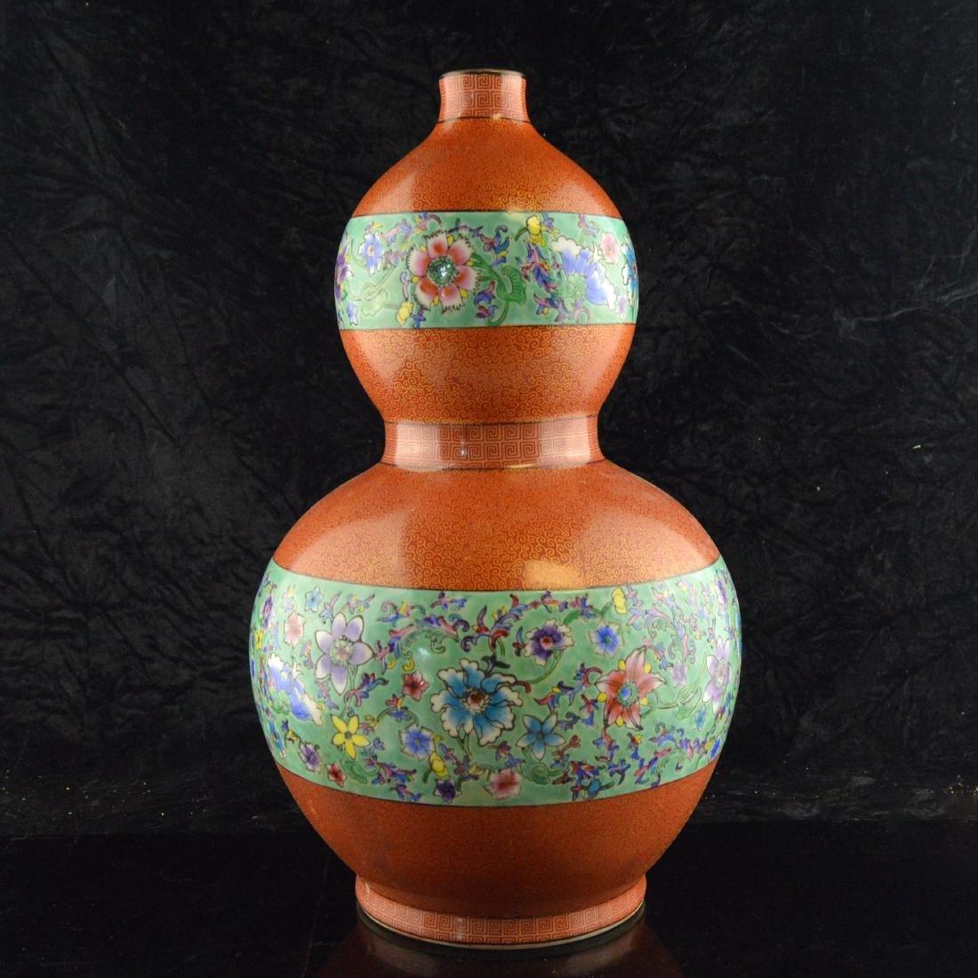 Cloisonne Ceramic Gourd