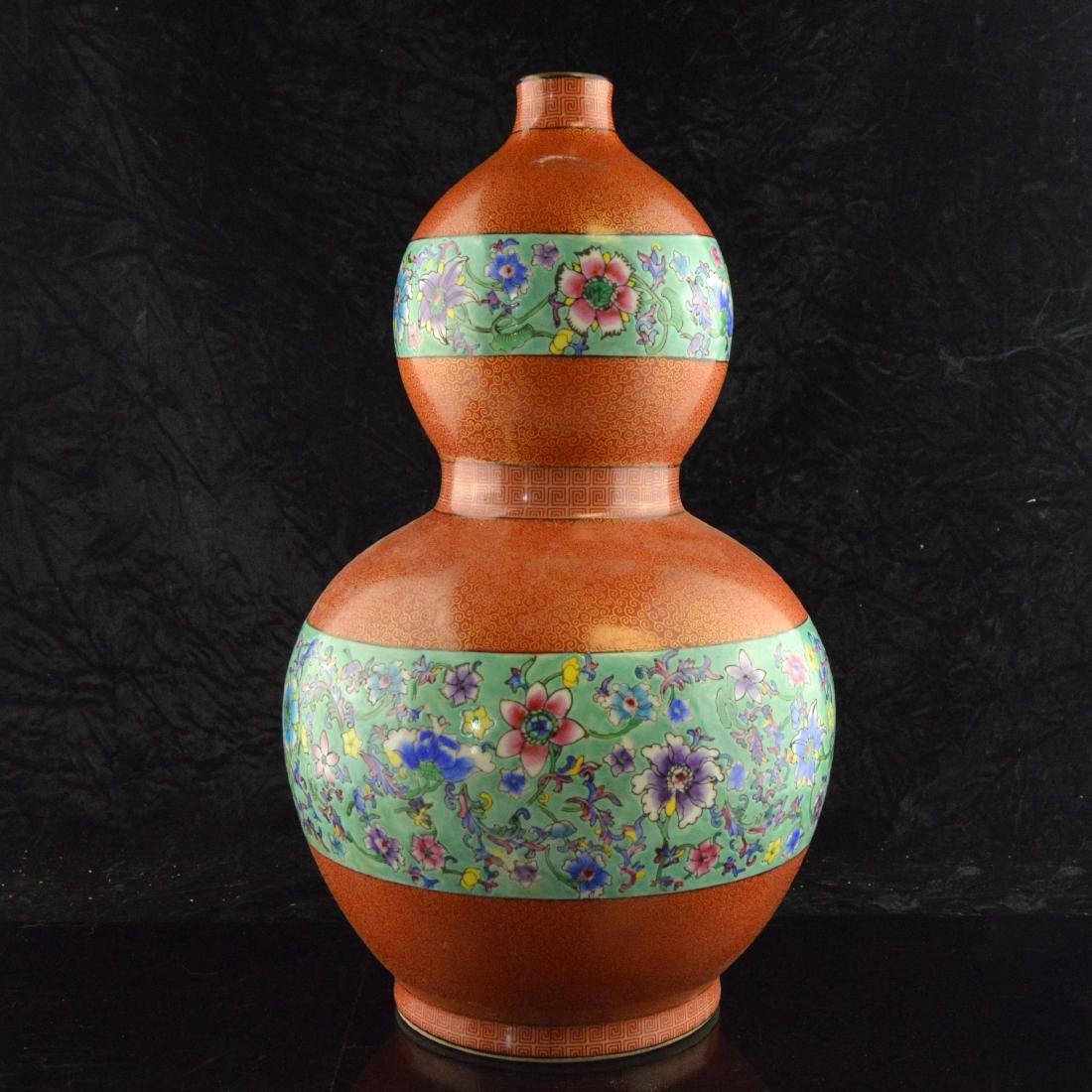 Cloisonne Ceramic Gourd - 3
