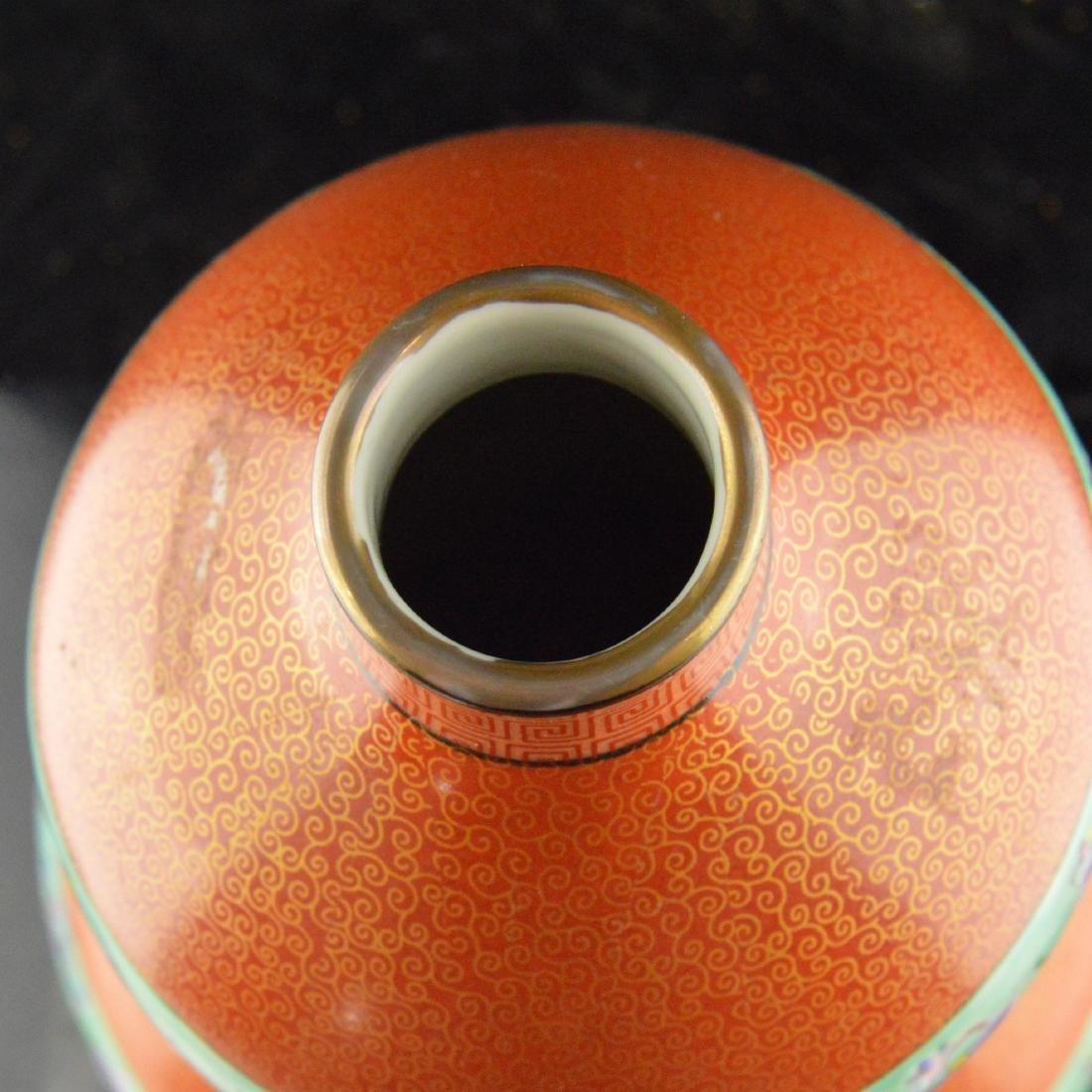 Cloisonne Ceramic Gourd - 5