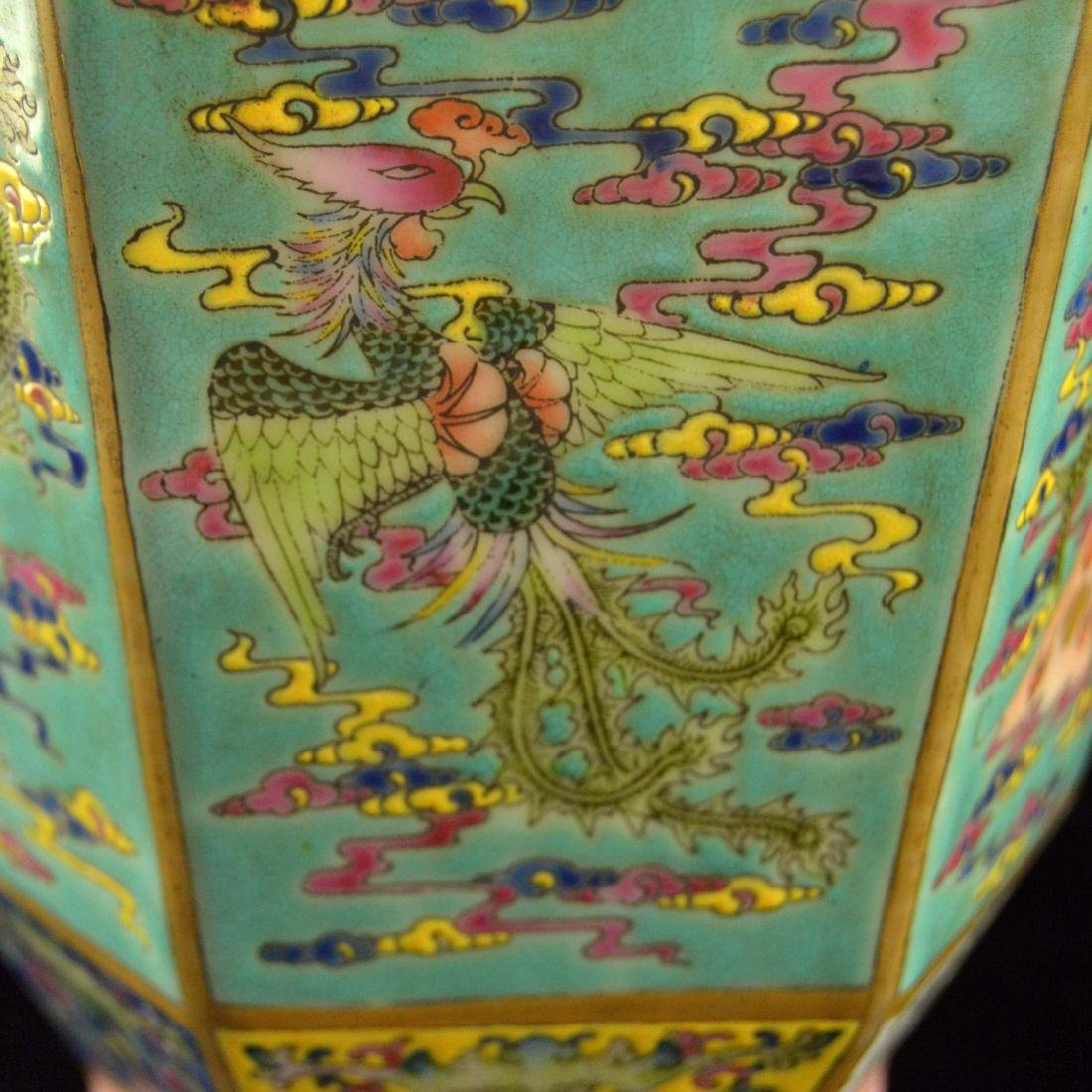 Colorful Hexagonal Mallet Vase - 10