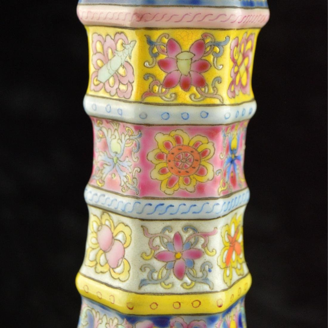 Colorful Hexagonal Mallet Vase - 7