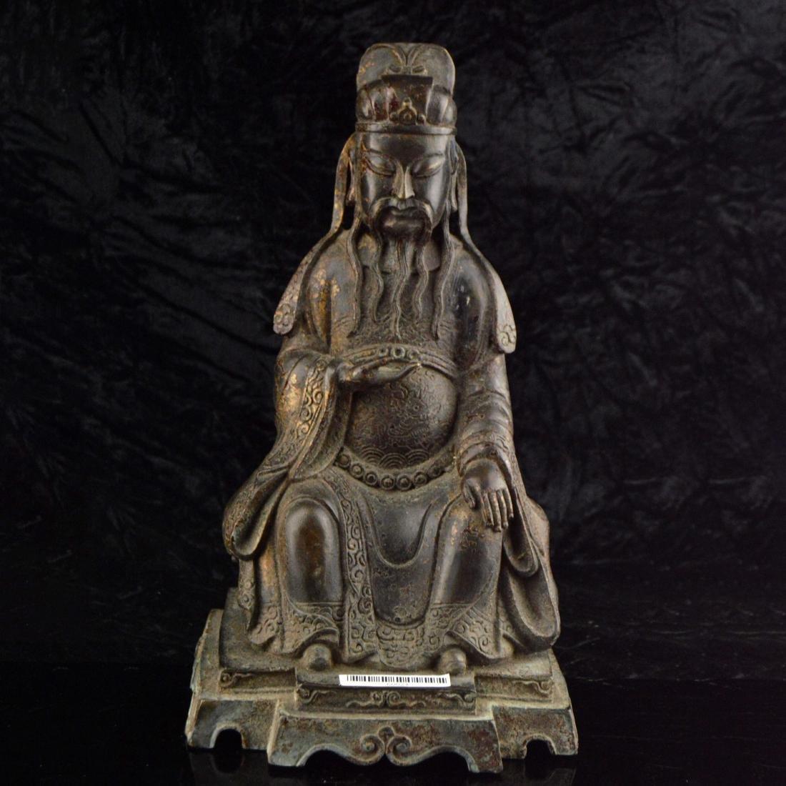 Gilt Bronze Statue