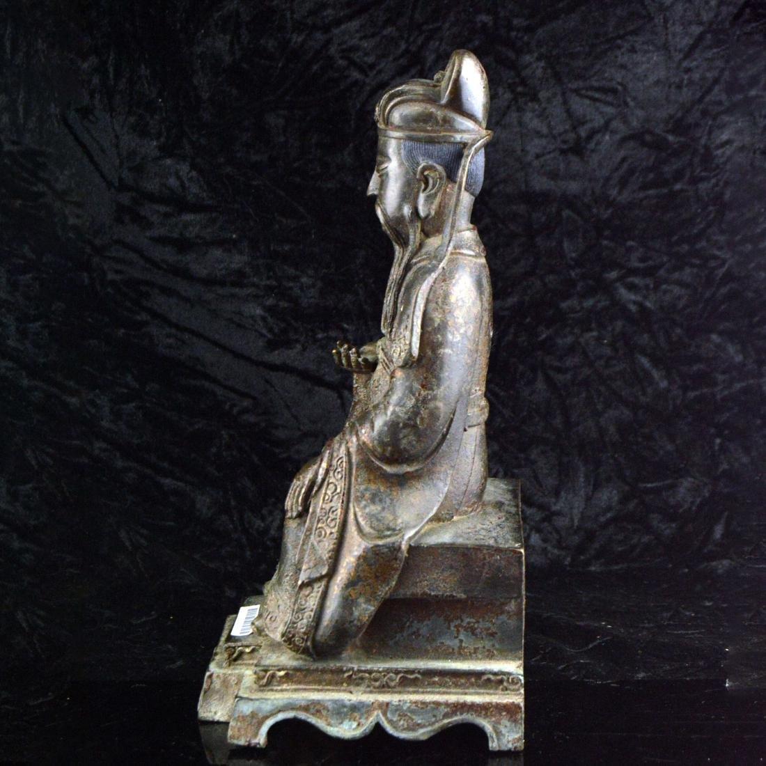 Gilt Bronze Statue - 2