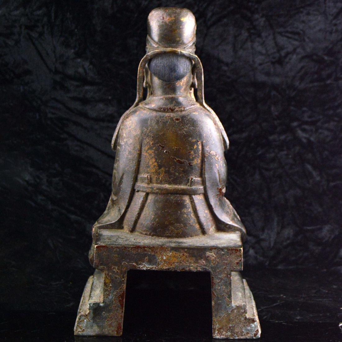 Gilt Bronze Statue - 3