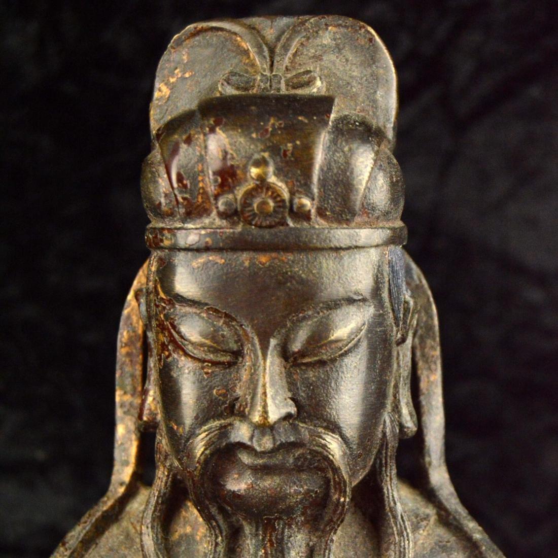 Gilt Bronze Statue - 5