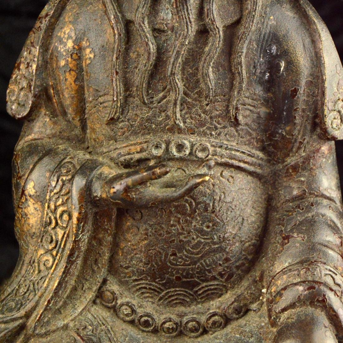 Gilt Bronze Statue - 6