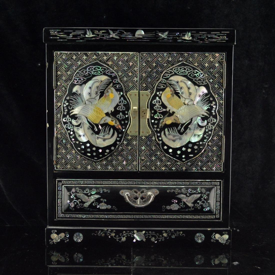 Mother of Peral Jewelry Box