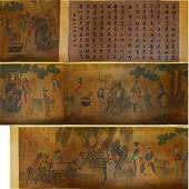 Wu Yue beauty scroll