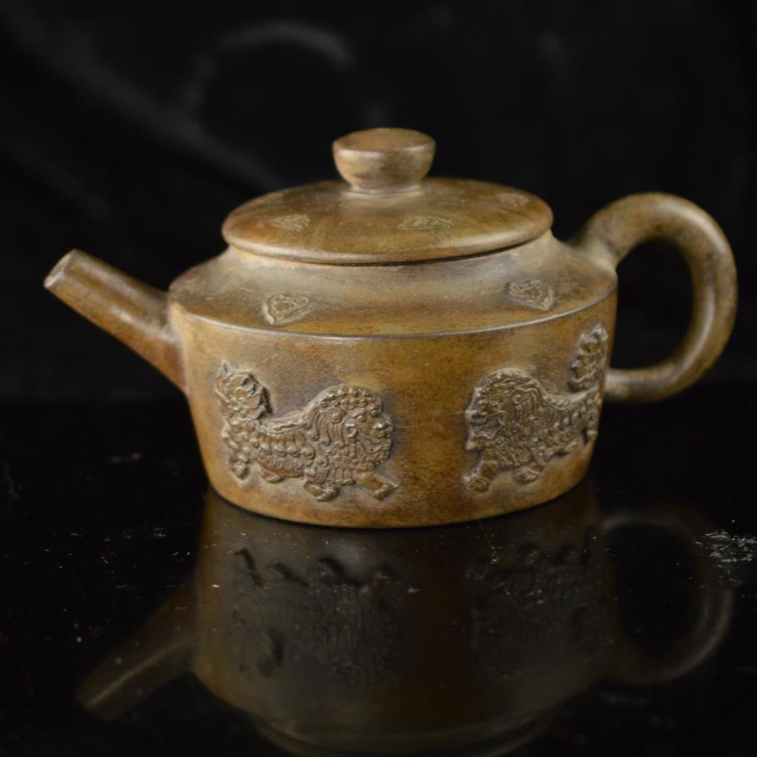 Quan long style Zisha teapot - 3