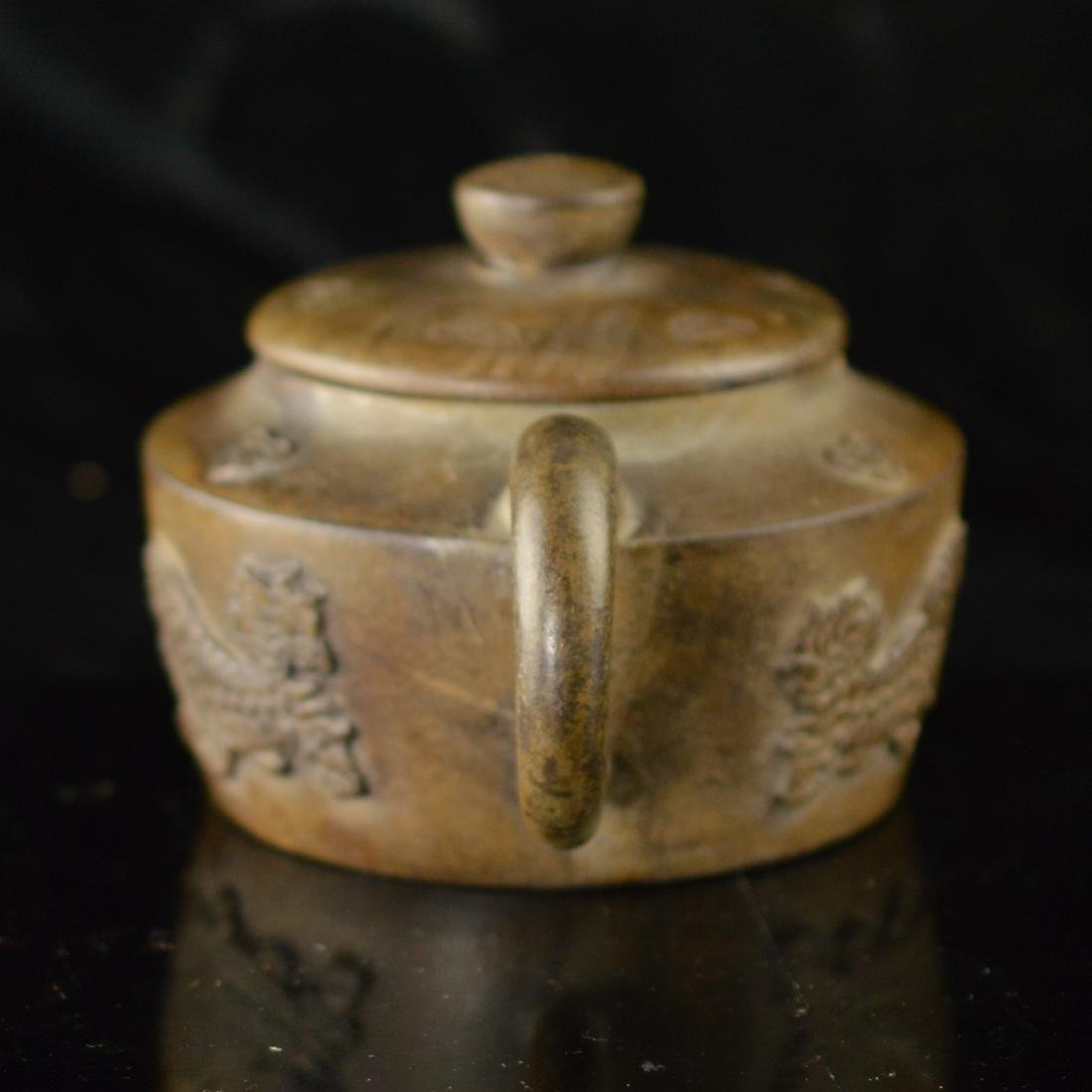 Quan long style Zisha teapot - 4
