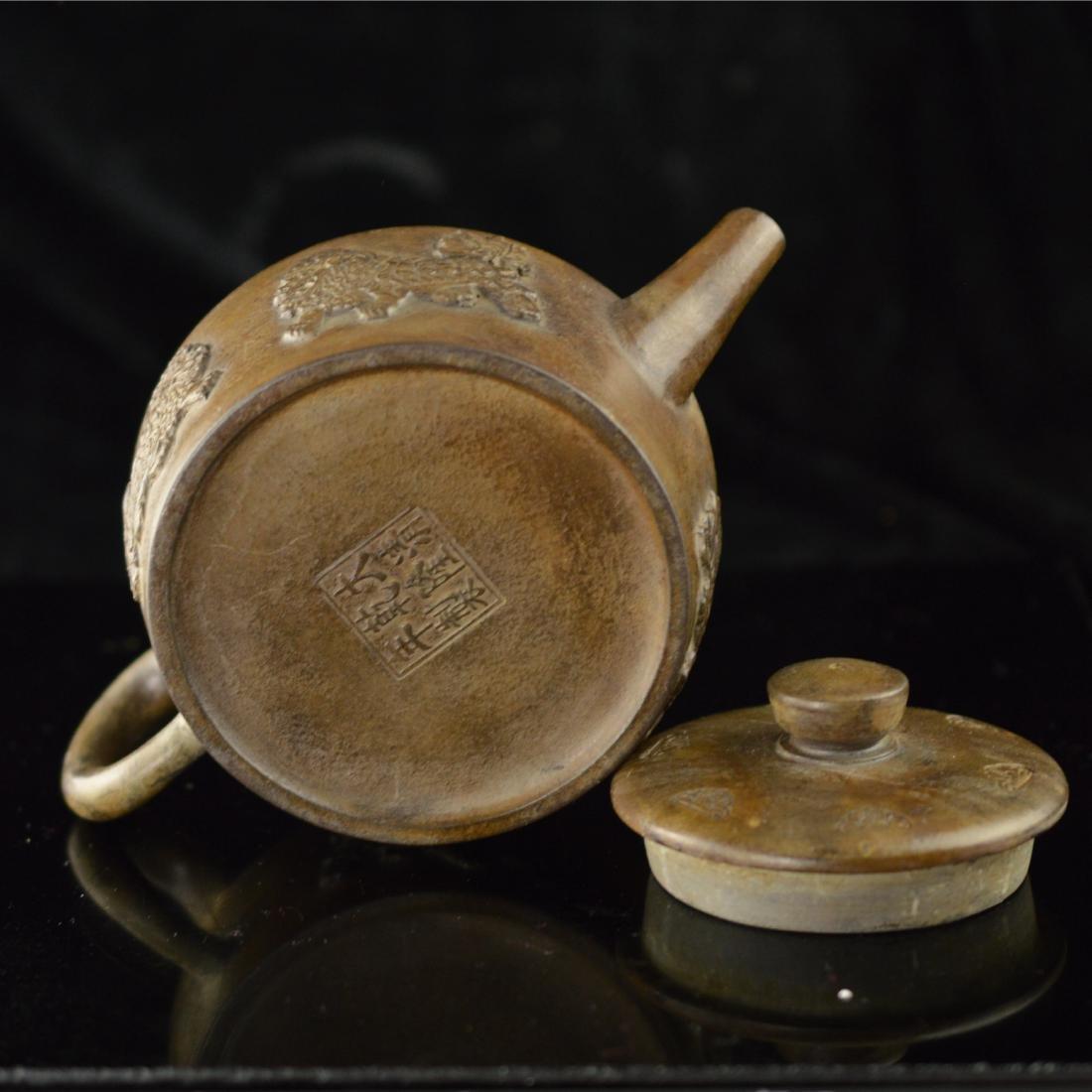 Quan long style Zisha teapot - 5