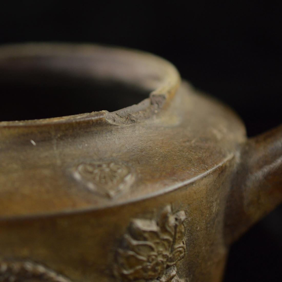 Quan long style Zisha teapot - 8