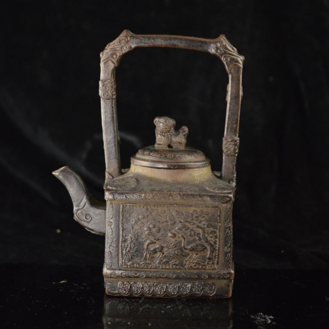 Zisha teapot mark Da Bin - 3