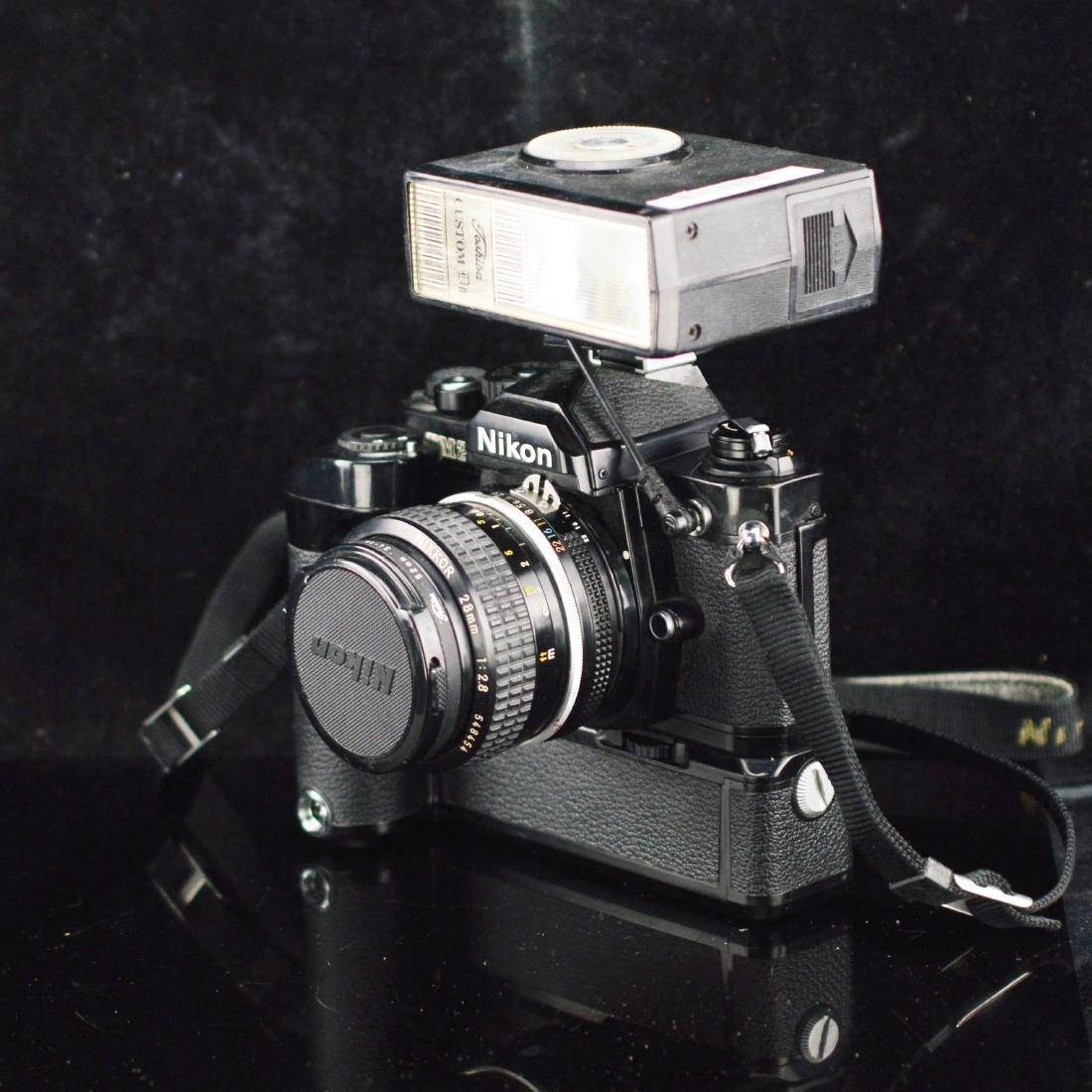 Nikon FM2 with Nikkor 28mm  Camera