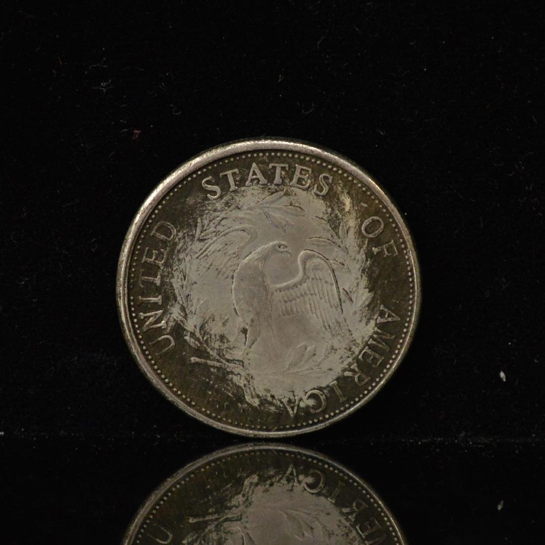A1796 US libery Silver coins and A 1865 5 Francs coin - 3