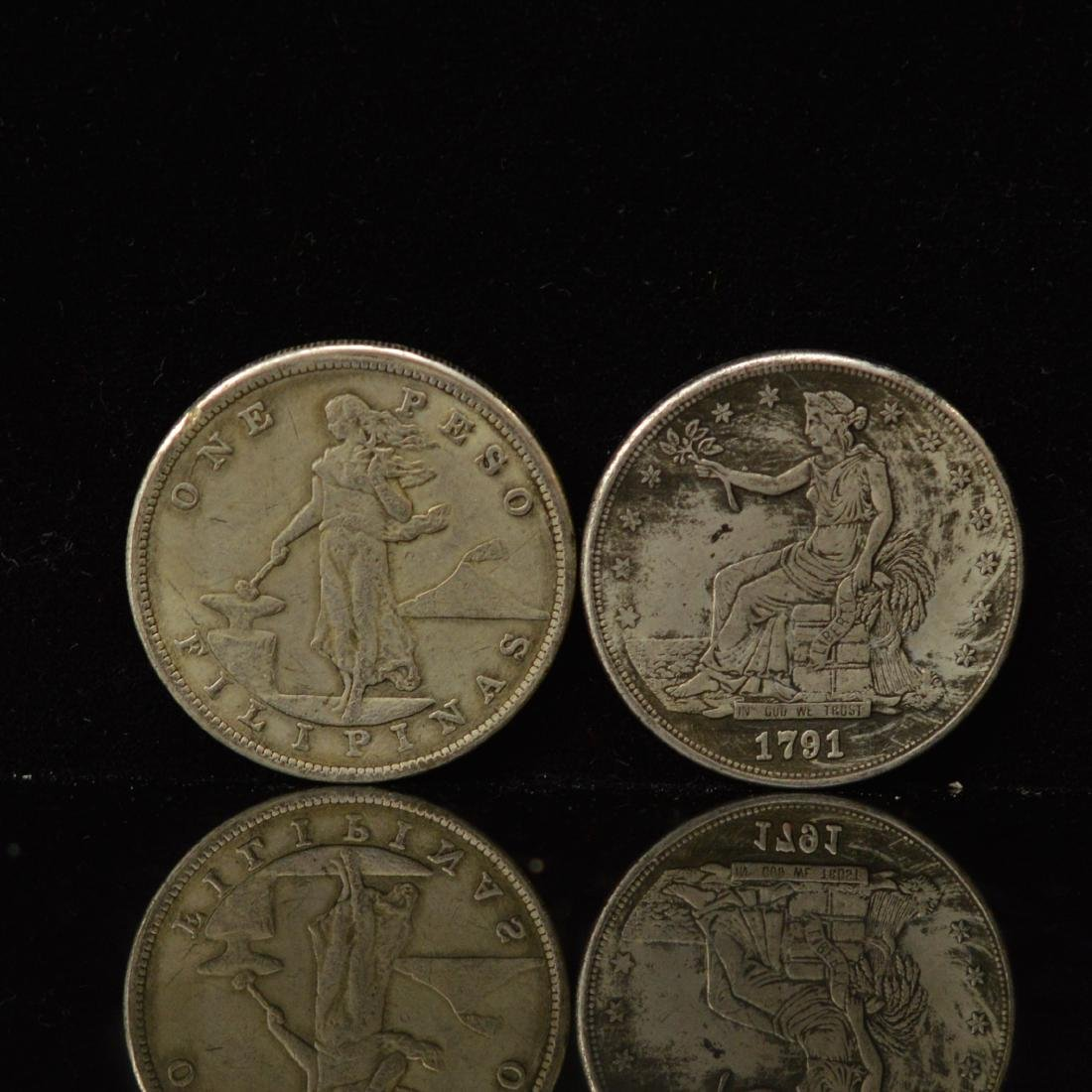 Two US Silver coins