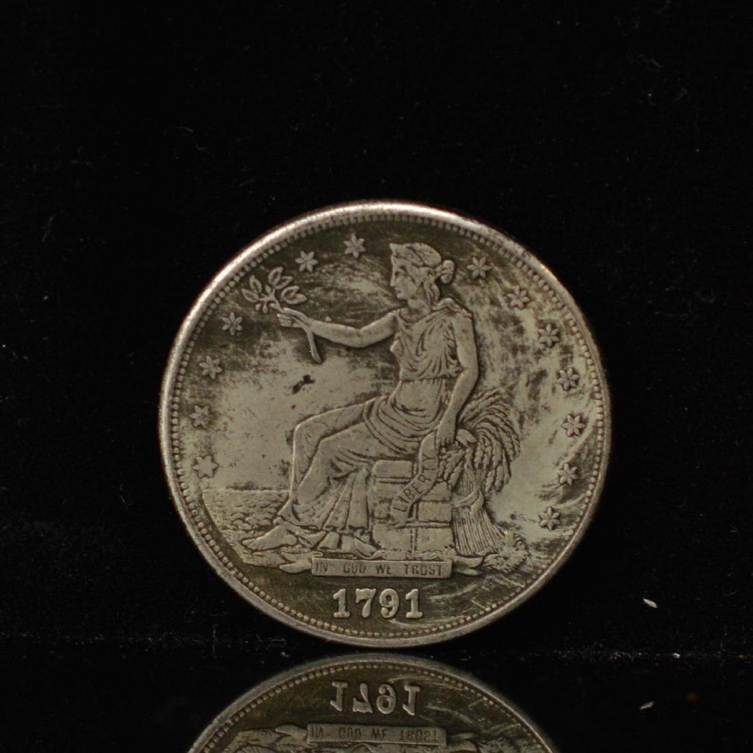 Two US Silver coins - 4