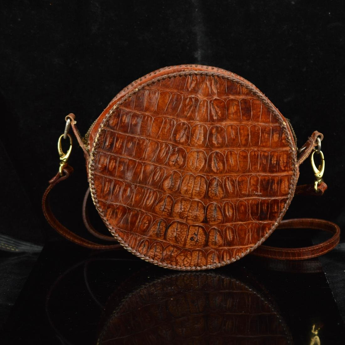 Authentic Alligator skin purse
