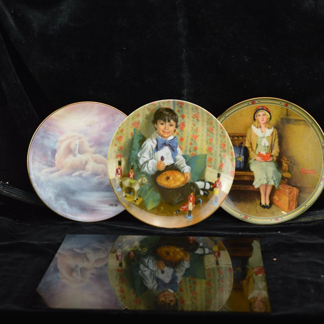 3 color print decorative plates