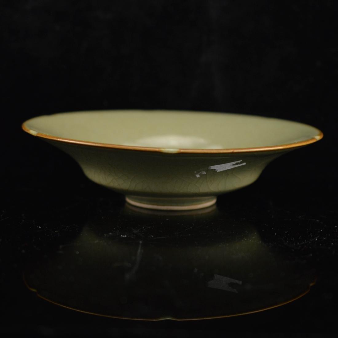 Celadon Crackle Glazed Bowl