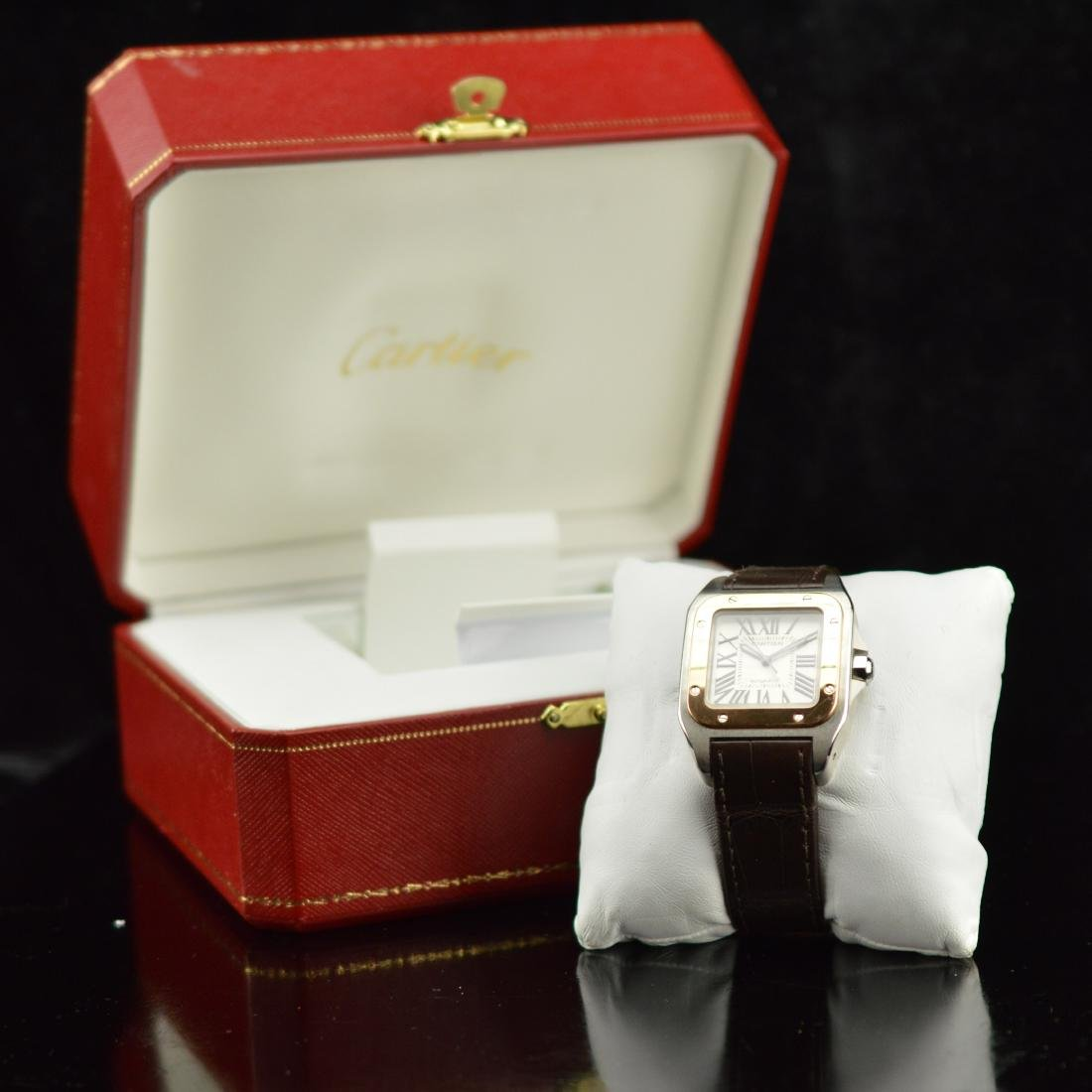 Cartier Santos 100 MM watch