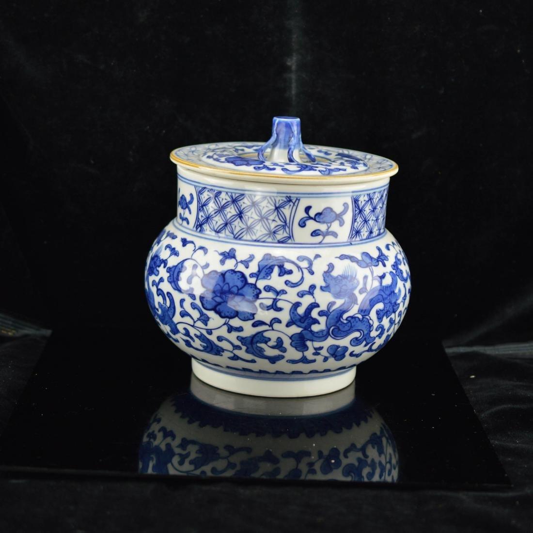 Ming Style High imitation Wu Liang Da Fu Porcelain jar