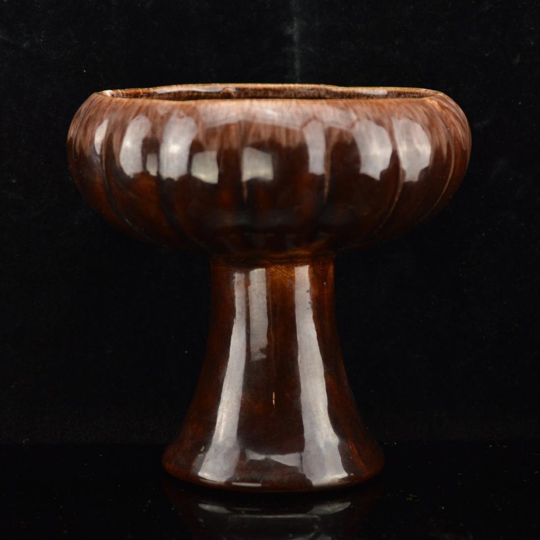 Antique Goblet shaped stem bowl