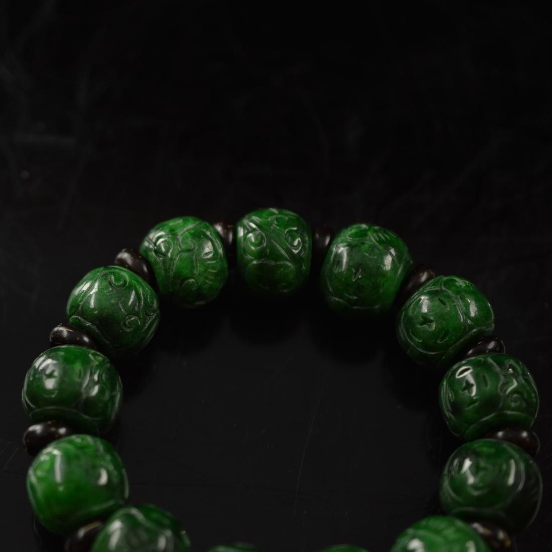 Jadeite bracelet - 2