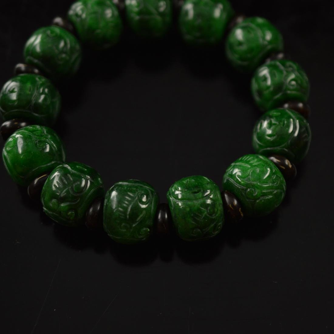 Jadeite bracelet - 3