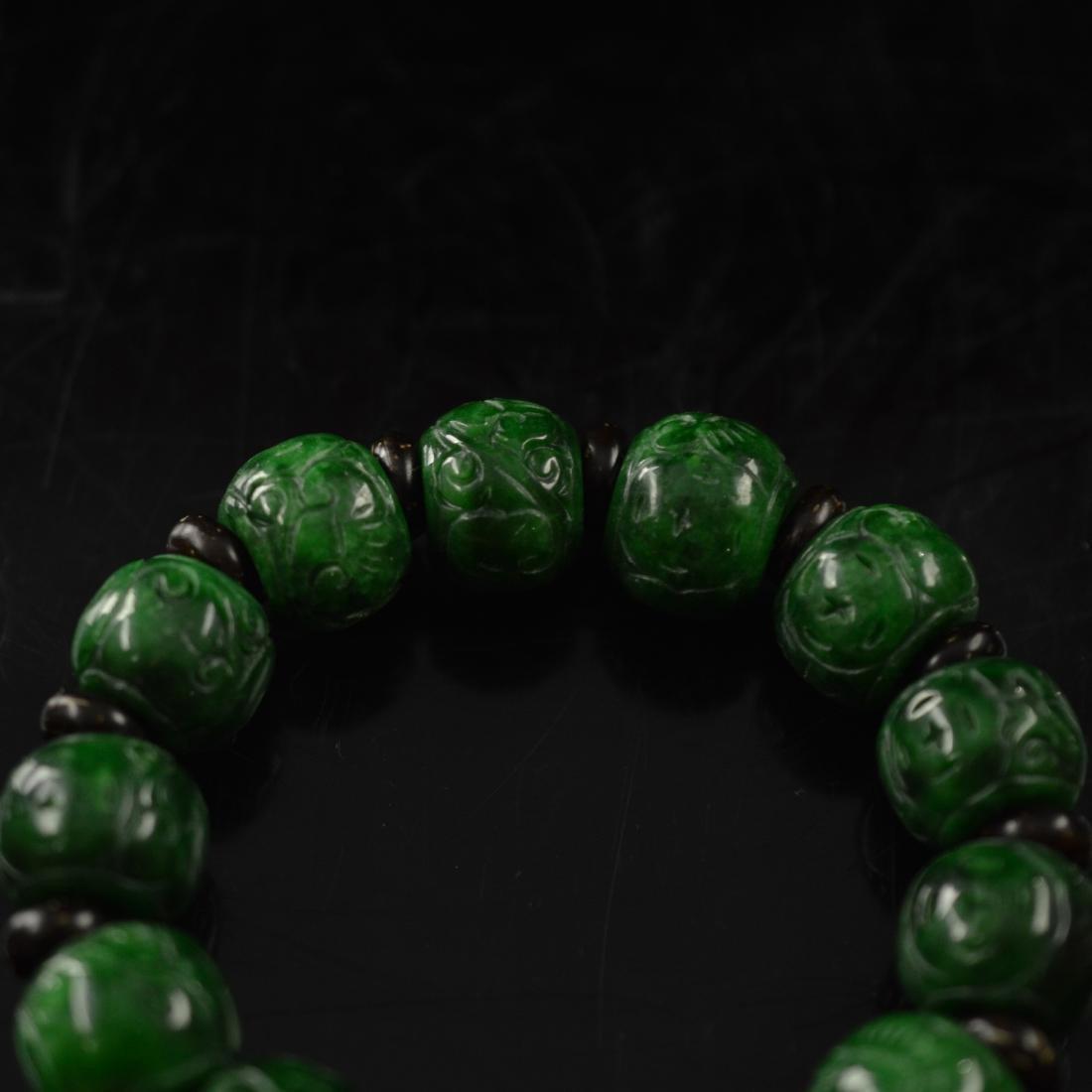 Jadeite bracelet - 4