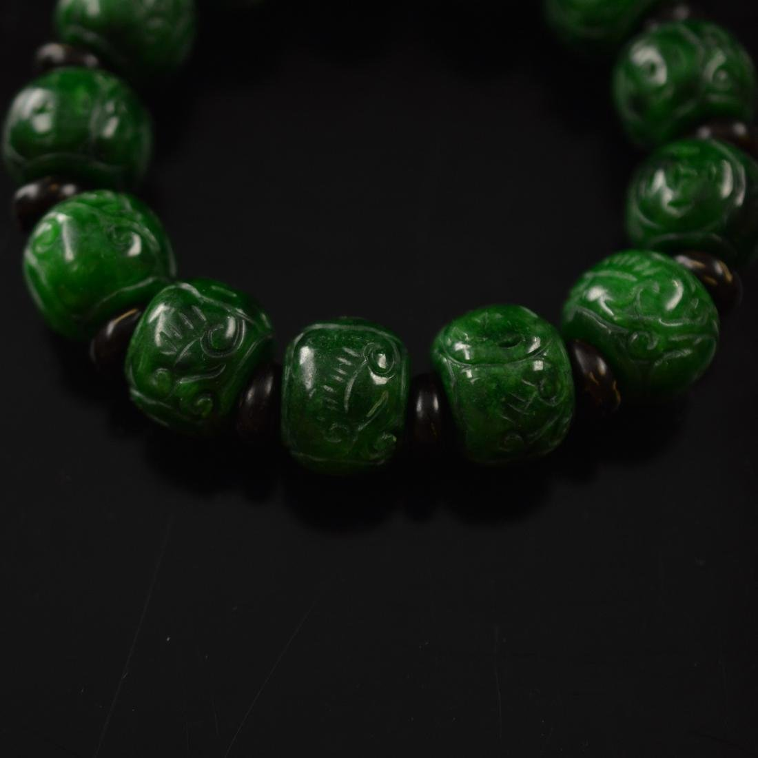 Jadeite bracelet - 5