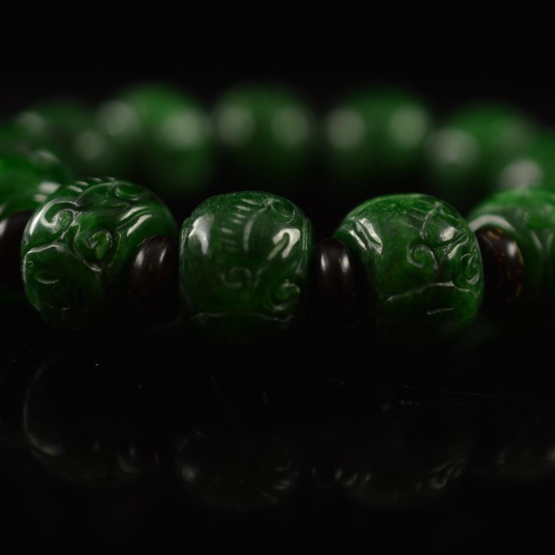 Jadeite bracelet - 6