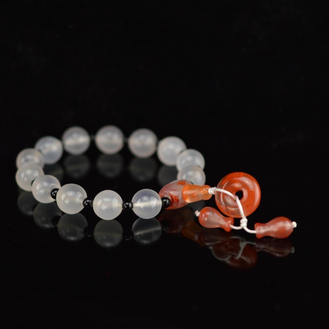 Southern agate beads bracelet