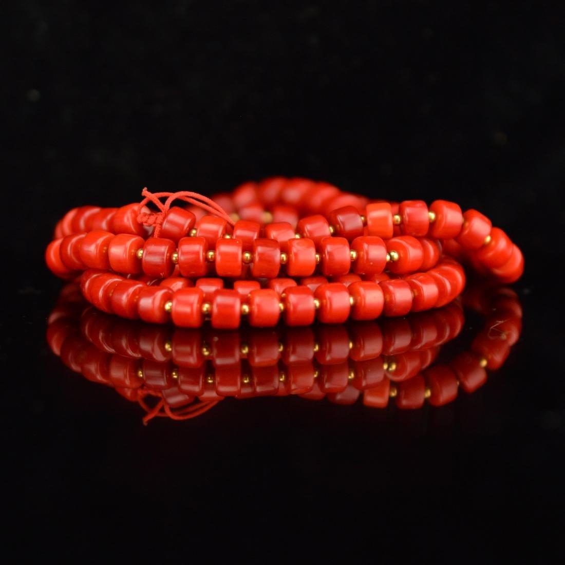AKA coral bracelet